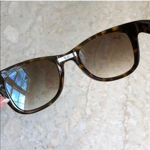 Ray-Ban Accessories - Ray Ban - Brown Folding Wayfarer Sunglasses